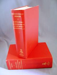 Memoirs of Libraries. Including a Handbook of Library Economy. Vols. 1 & 2