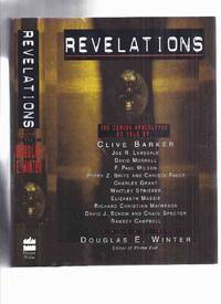 Revelations:  The Coming Apocalypse inc. Big Blow; Open Doors; Aryans and Absinthe; Triads; Riding the Black; Whatever; Dismantling Fortress Architecture; The Word; Chiliad: A Meditation: A Moment at the River's Heart  etc