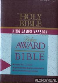 Holy bible King James version. Deluxe award bible