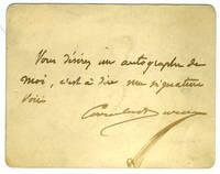 image of Carolus Duran autograph