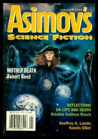 image of ASIMOV'S SCIENCE FICTION - Volume 22, number 1 - January Jan 1998: Mother Death; Approaching Perimelasma; King Moron; Evolution in Guadalajara; Taking Care of Daddy; Reflections on Life and Death; Caliban in Ferragamos; Visitor