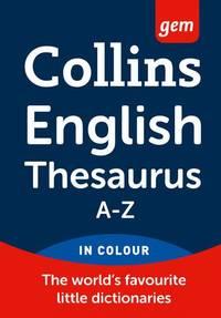 Collins Gem English Thesaurus (Collins Gem)