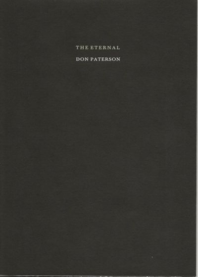 Tungsten Press, N. H., 2019. 1st edition, limited, (1/12) Roman numbered, orginal hand tied paperwra...