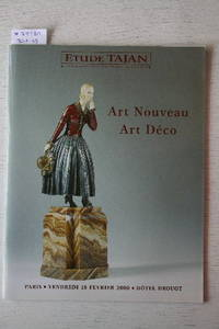 Vente 18 Février 2000 : Art Nouveau & Art Déco. by  PARIS  ETUDE - DROUOT - from Frits Knuf Antiquarian Books (SKU: 79781)