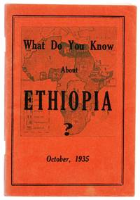 What Do You Know About Ethiopia?