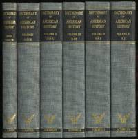 Dictionary Of American History: Volumes: I-V and Index