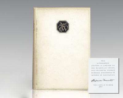 The Viking Press: New York, 1937. Signed limited edition of Woollcott's Second Reader. Octavo, origi...