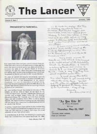 The Lancer Volume 4, Issue 1 Summer 1990