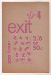 Exit 4 (ca. 1966) - includes Exit News and Reviews insert SIGNED by editor John Hall