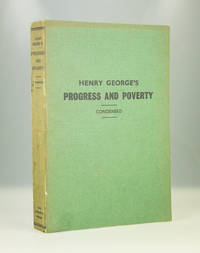 Henry George's Progress and Poverty (a new condensed edition)