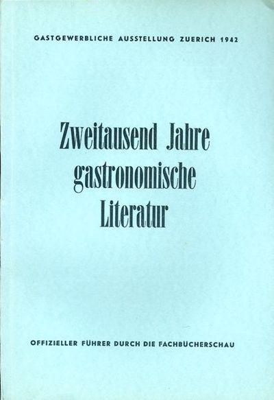 Gastgewerbliche Ausstellung Zuerich...