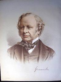 1890 Colour Lithograph Portrait of The Right Hon. Earl Granville, K.G