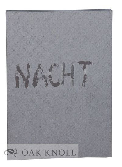 (Berlin): John Gerard, 1992. Gray paper covered boards opening from either end with pages accordian ...