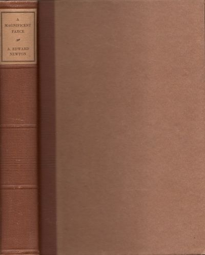 Boston: Little Brown and Co, 1928. First Edition. Hardcover. Very Good. Octavo. Hardcover. Brown pap...