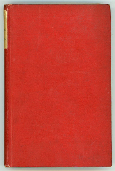 Boston and New York: Houghton Mifflin and Company, 1890. 12mo, pp. 8-276 , flyleaves at front and re...