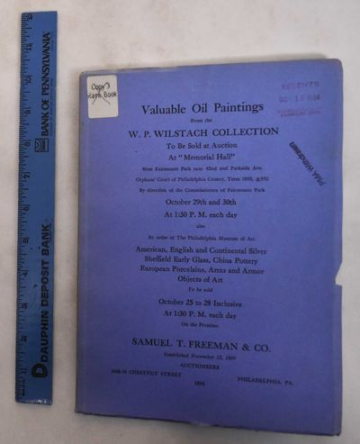 Philadelphia: Samuel T. Freeman & Co, 1954. Softcover. VG/G, covers are chipped and worn on edges, s...