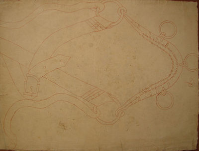 Three Fifteenth Century Drawings of...