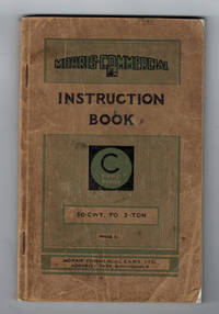 Morris-Commercial Instruction Manual for the 'C' Type Range. 30 cwt to 3 ton