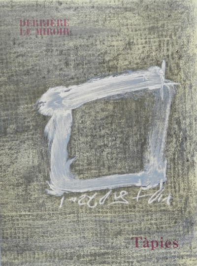 Paris: Paris: Maeght, 1979, 1979. With 2 original color lithographs in double page by Tapies. Text b...
