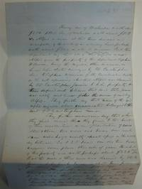 Document Assessing the Value of a Plantation by SLAVERY - 1855
