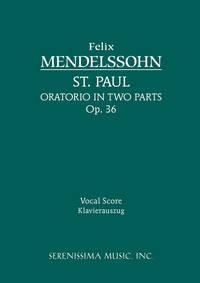 St. Paul, Op.36
