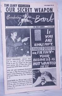 image of Berkeley Barb: vol. 6, #21 (#145) May 24-30, 1968: Tim Leary: Our Secret Weapon