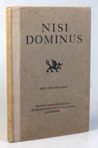 Nisi Dominus. Nisi Dominus aedificaverit domum, in vanum laboraverunt qui aedificant eam....