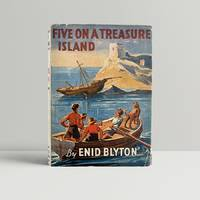 Five On A Treasure Island - in the original first issue dust wrapper and SIGNED by the Author