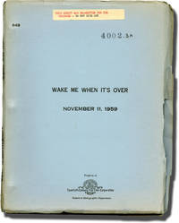 Wake Me When It's Over (Original screenplay for the 1960 film)