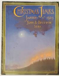 CHRISTMAS JINKS  January 4th 1923