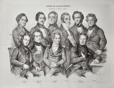 : Lith. de Grégoire et Deneux, 1844. Large oblong folio. Sheet size 568 x 805 mm. (21-5/8