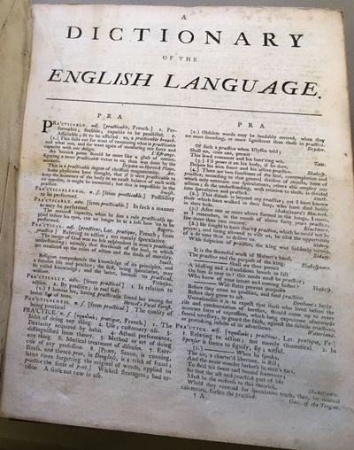 Dublin: Printed for Thomas Ewing, 1775. Fourth Edition, revised by the author. thick 4tos., 3 volume...