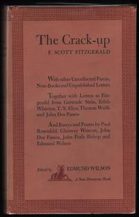image of The Crack Up; with other uncollected pieces, note-books, and unpublished letters.