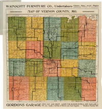 NEW POCKET MAP OF VERNON COUNTY, MISSOURI [wrapper title]