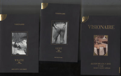 New York: Visionaire, 1994. First Edition. Softcover. Near Fine Condition. Black cardboard slipcase ...