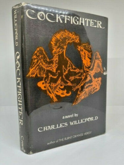 SIGNED FIRST EDITION OF COCKFIGHTER