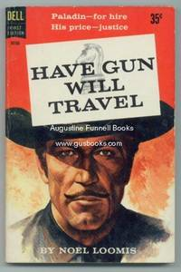 HAVE GUN WILL TRAVEL CHECKBOOK COVER # 2 RICHARD BOONE AS PALADIN.....FREE SHIP