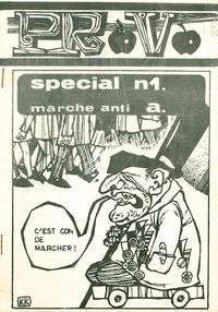 Provo special, nos. 1 (marche anti a.) and no. 2 (militariste) (all published)