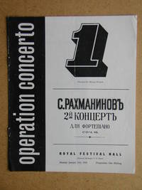 Operation Concerto. Concert Programme.