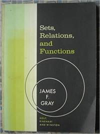 Sets, Relations, and Functions