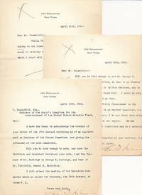 Collection of 7 Typed Letters Signed