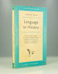 Language in History by Harold Goad - 1958