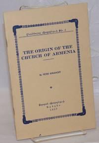 image of The origin of the Church of Armenia