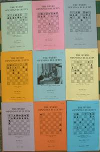 The New Myers Openings Bulletin #1-9 (Complete Set) chess