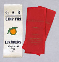 Grand Army Of The Republic Camp Fire Badge, Los Angeles, 1903