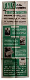 View Image 5 of 7 for Collection of Posters for the Christian Democratic Party in Italy's 1948 Elections Inventory #2986