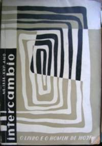 image of O livro e o homen de hoje. Revista Intercambio 4/6, 1958