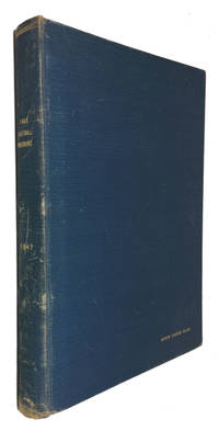 Bound volume containing Programs for All Nine 1947 Yale Football Games (King's Point, Cornell, Columbia, Wisconsin, Springfield, Dartmouth, Brown, Princeton and  Harvard)