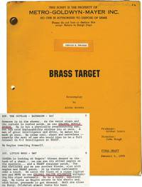 Brass Target (Original Screenplay for the 1978 film)