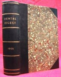 image of THE DENTAL DIGEST (1901, VOL. VII, JANUARY TO DECEMBER)  Monthly Summary  of Dental Science Devoted to the Progress of Dentistry
